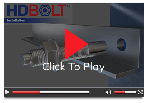 Heavy Duty Bolt Installation